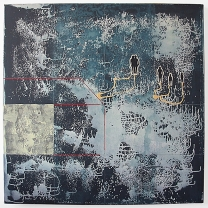 Blue Painting #1 (Shelter), 2007